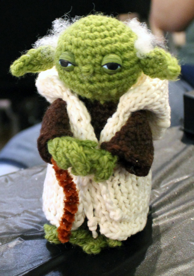 Star Wars Yoda Crochet Pattern