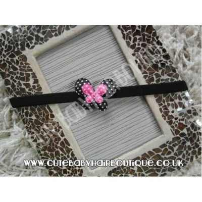 black-and-pink-spotted-butterfly-headband