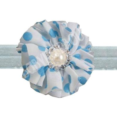 Light Blue toddler headband