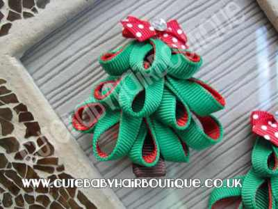 Christmas Tree Baby Hair Clip for babies