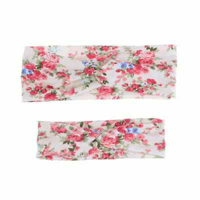 cream-floral-wrap headband