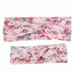 Pink Floral Twist