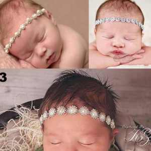 Princess Headband with Pearls