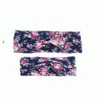 Navey Floral Twist