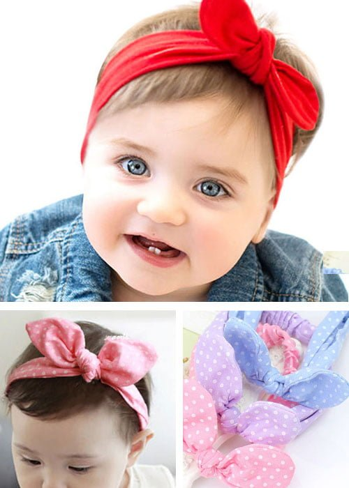 Baby Top Knot Headbands All