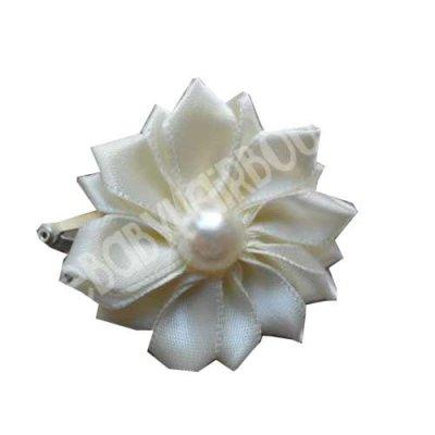 cream babies hair clip