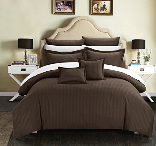 top 10 rich chocolate brown comforters