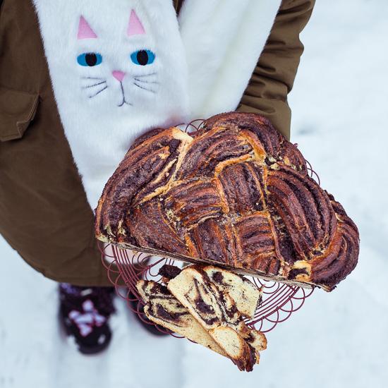 Schokoladen Babka aus Backen Craft und Rote Katze