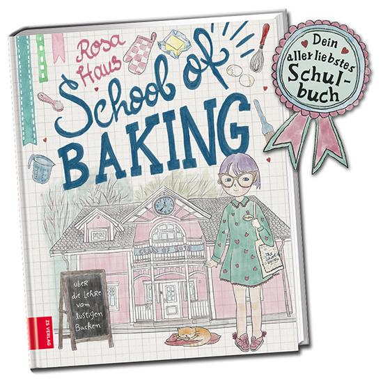 School of Baking, mein Neues Buch