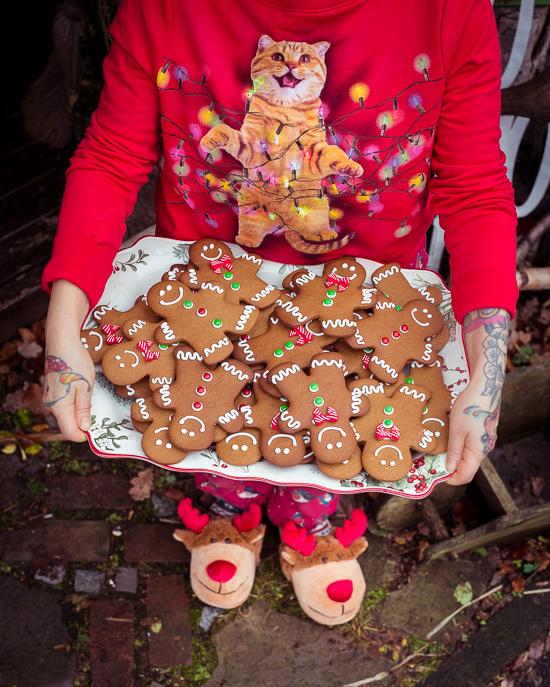 Die tollen Gingerbread Men dürfen natürlich nicht fehlen
