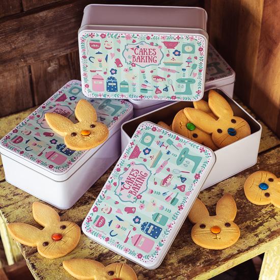 Meine erste eigene Vorratsdose ab sofort in meinem Shop, bei mir sind da natürlich erstmal Kekse drin !