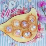 Osternester aus Kokosmakronenteig
