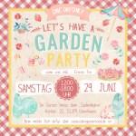 Einladung zur Garden Party