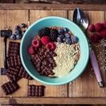 Peanutbutter Schoko Porridge