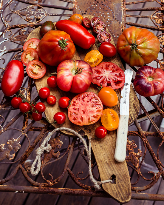 Im Rosa Haus gibt´s immer noch Tomaten