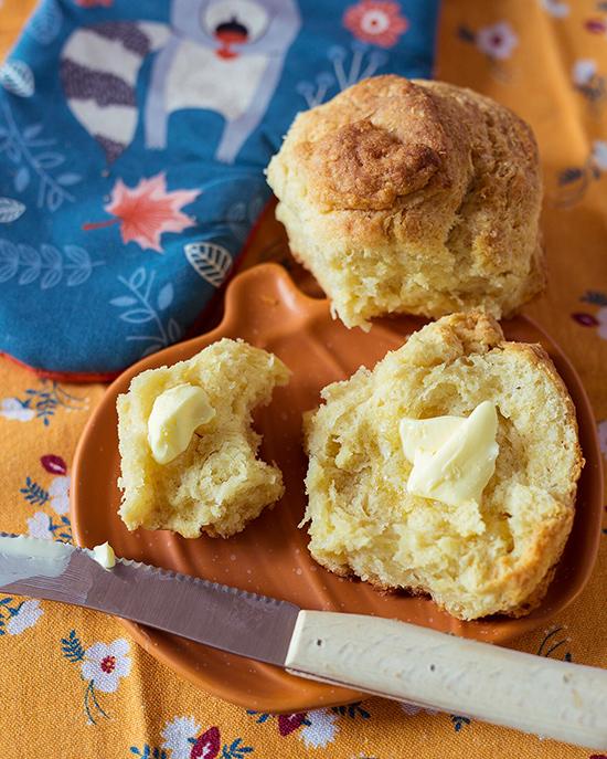 Super leckere Buttermilch Brötchen aus USA