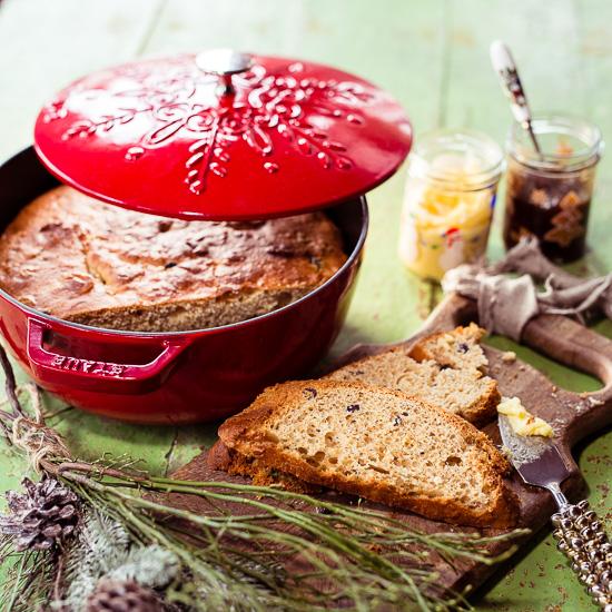 Dieses skandinavische Weihnachtsbrot kann man süß oder salzig belegen