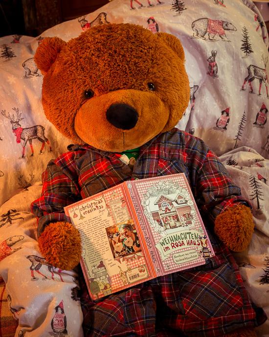 Weihnachten im Rosa Haus das Lieblingsbuch vom lustigen Bär