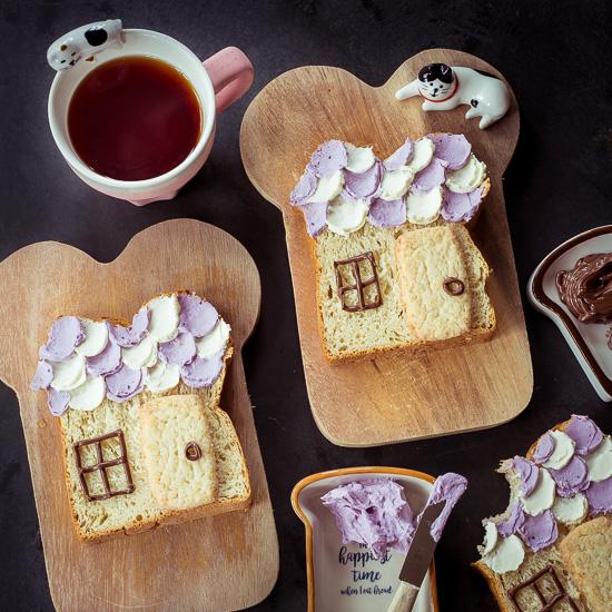 Mein heutiger Vorschlag für ein süßes Frühstücksbrot