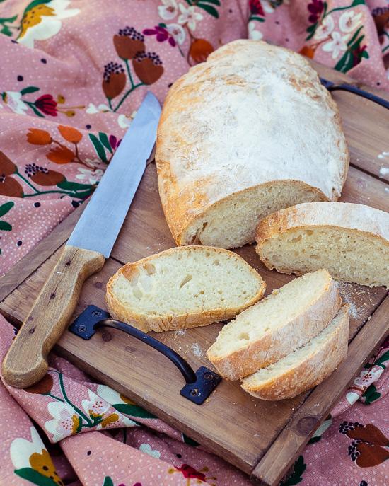 Dieses Ciabatta Brot geht super schnell