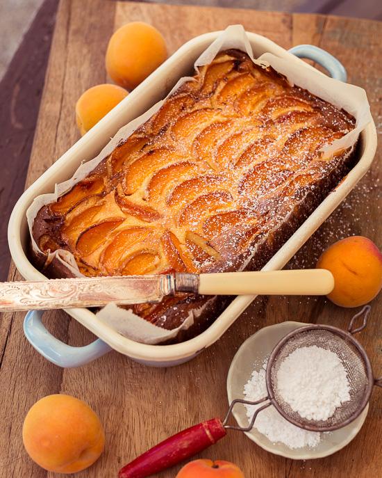 Das ist Mamas Käsekuchen aus Backen Mit Love mit Aprikosen