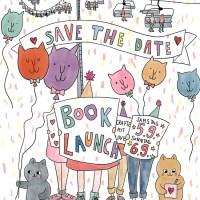 Save the Date für meinen Book Launch 5.9. u. 6.9.