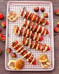 Erdbeer Pancake Spiesse