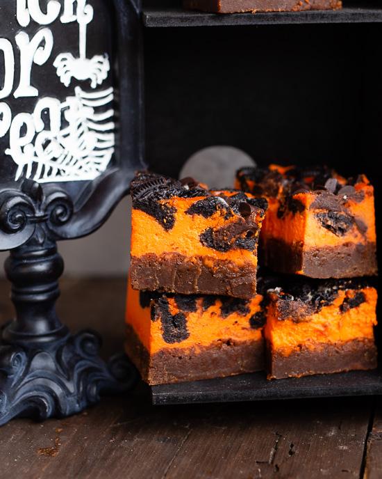 Ich mag die Halloween Brownies saftig am liebsten