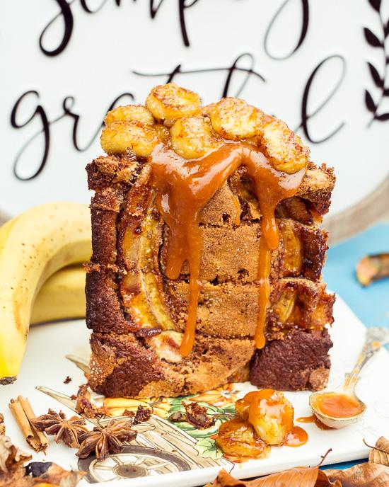 Das Bananenbrot aus Backen Mit Love in einer Zimt / Spekulatiusgewürz Variante