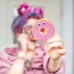 Mini Donut Karten