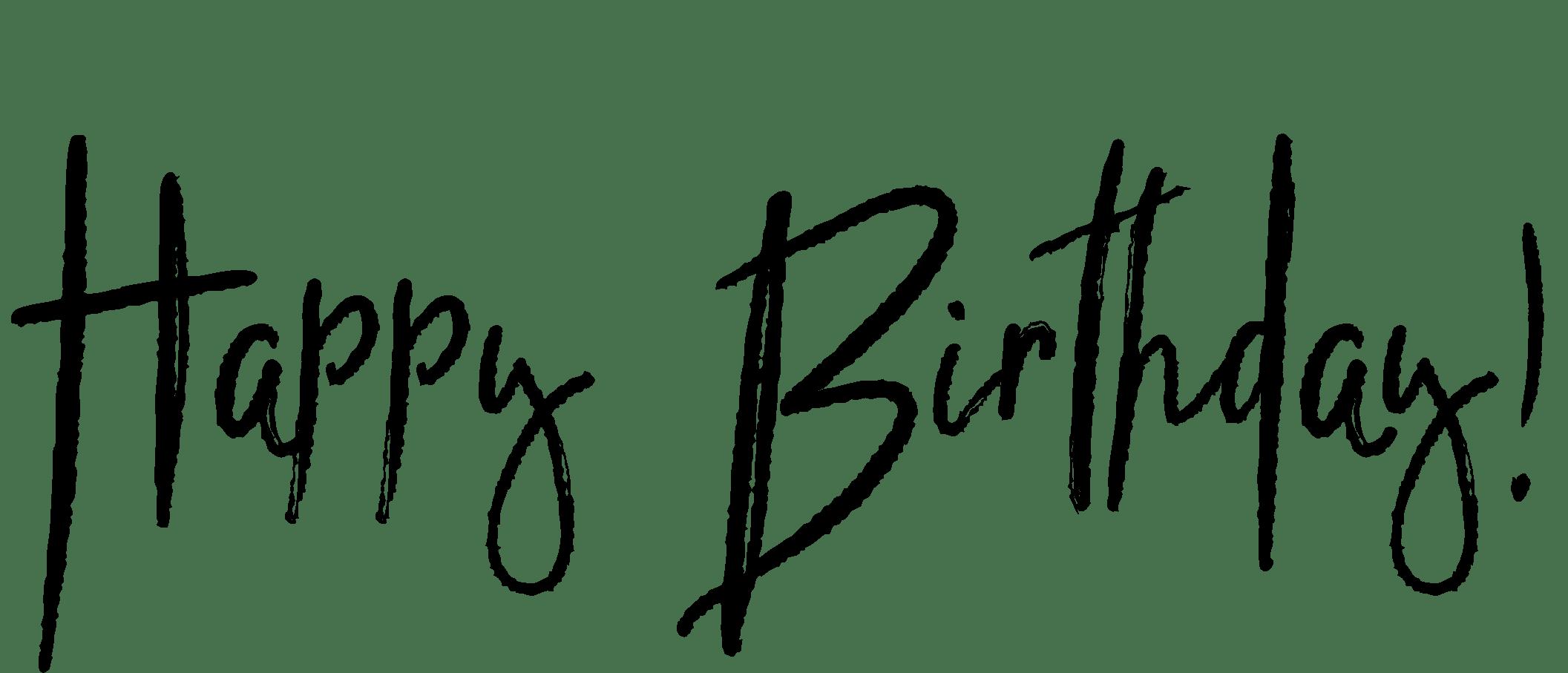 Transparent Birthday Tumblr | www.imgkid.com - The Image ...