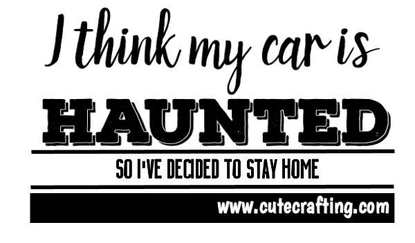 haunted car