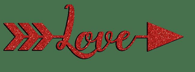 Download Glitter Sparkle Love Arrows Clipart
