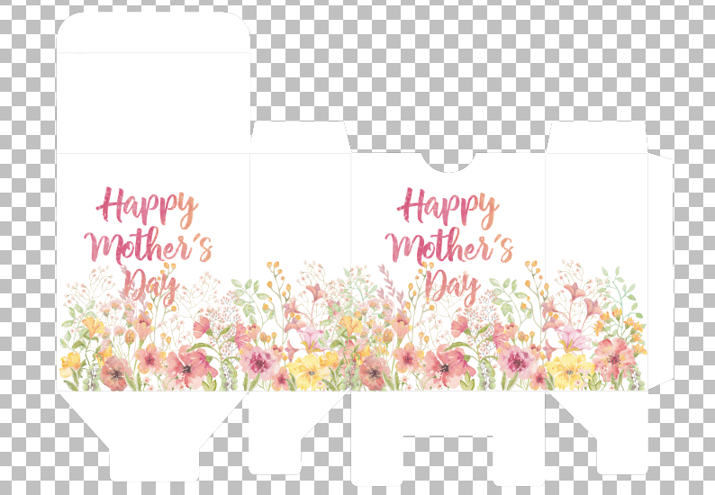 Happy Mother's Day Printable Gift Box
