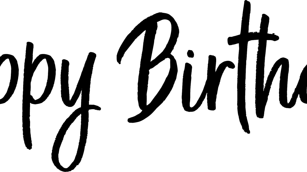 Happy Birthday Transparent PNG Photo Overlays