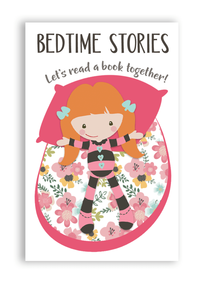 bedtime stories bookmark