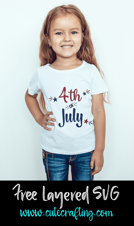 4th of July SVG Free