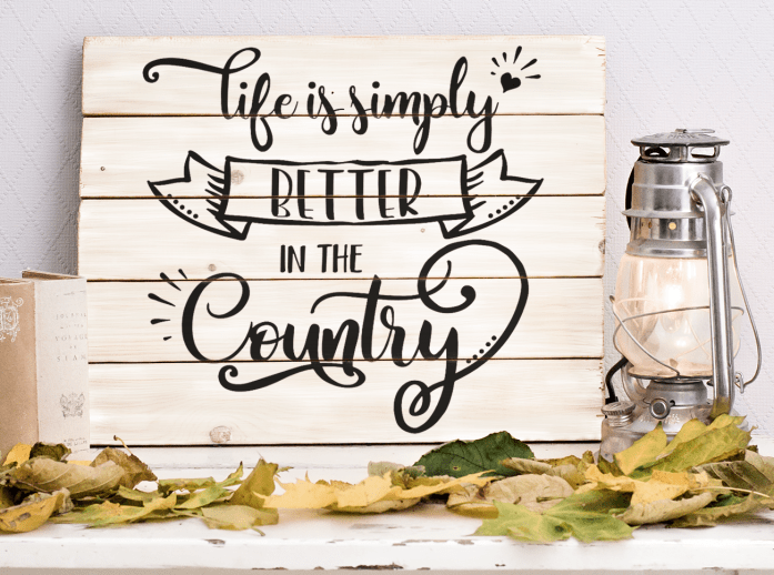 Country Life SVG Free