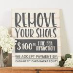 remove shoes svg