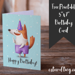 free funny dog birthday card
