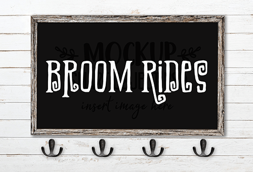 Broom Rides SVG