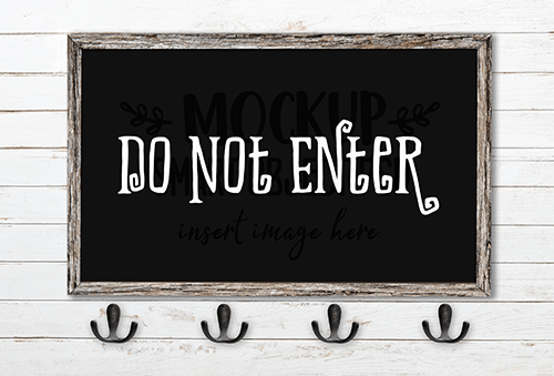 Do Not Enter SVG Cut File