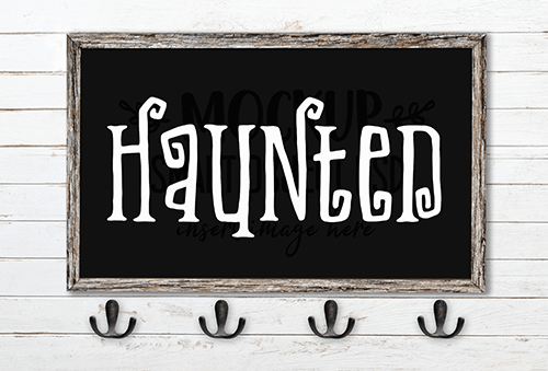 Haunted SVG Cut File