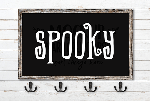 Spooky SVG Cut File