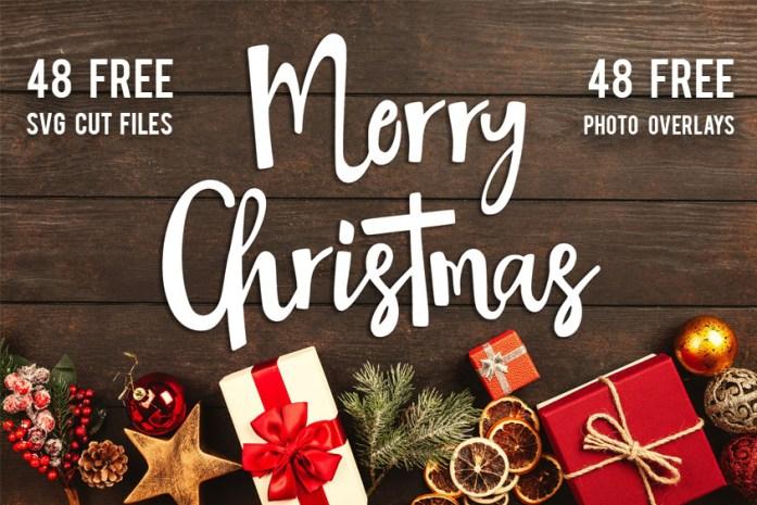 Christmas SVG Cut File Bundle 48 Free