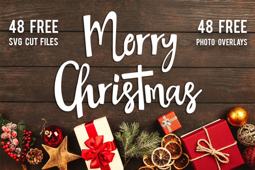 Christmas SVG Cut File Bundle 48 Free