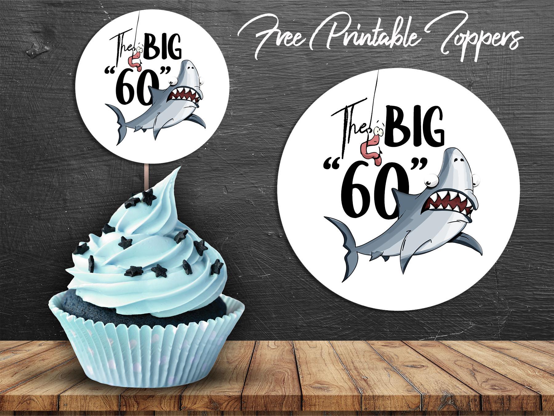 fishing birthday big 60 party
