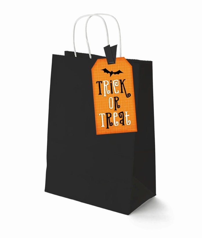halloween party printable tag