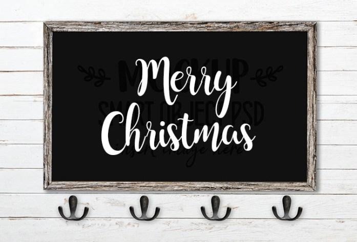 merry christmas svg word art atatila