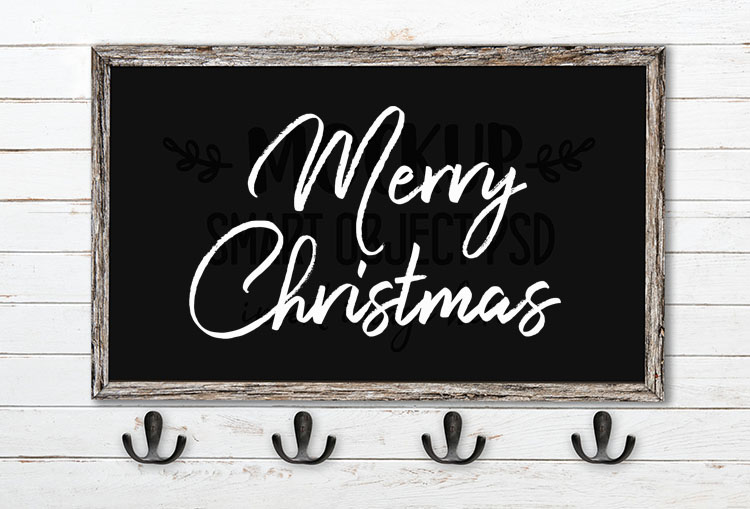 merry christmas svg word art harista